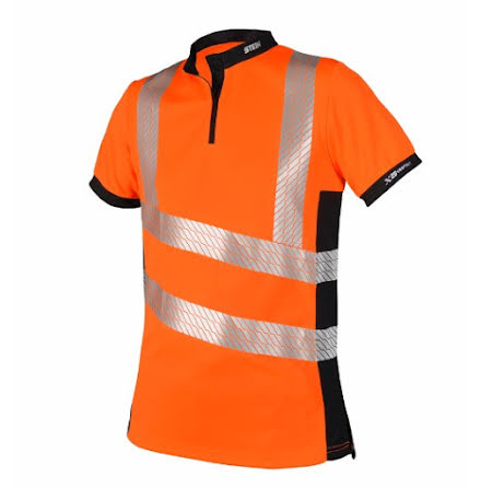 STEIN - X25 VENTOUT T-Shirt Short Sleeve, Hi-Viz Orange