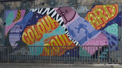 "Photo: Hafendampf 2015; ""Coloured Boulevard"" ANGUS"