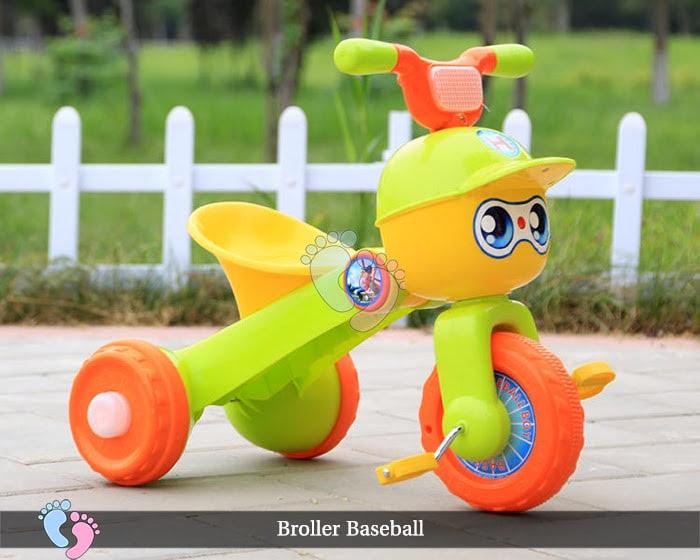 Xe đạp ba bánh trẻ em Broller XD3 Baseball 4
