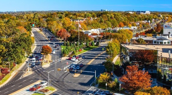 Rockville MD in the fall