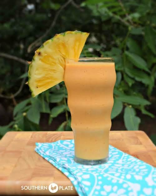 "Good For You Pineapple Pumpkin Smoothie ""Now this smoothie doesn't taste like..."