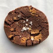 cookie — caramelised white chocolate