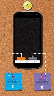 Leather Zipper Lock Screen - náhled
