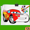 Mcqueen Coloring pages Cars 3