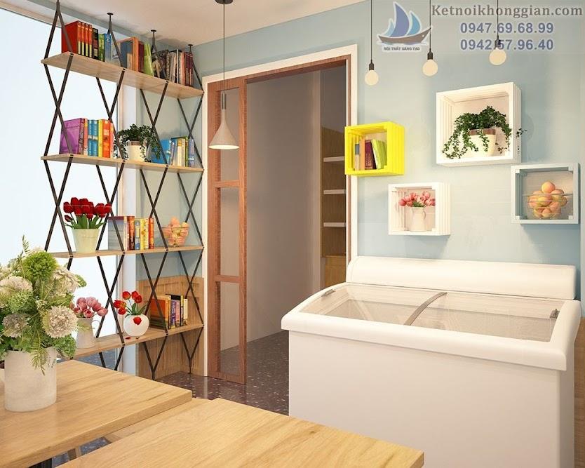 Thiết kế quán cafe diện tích nhỏ đẹp nhất Quảng Ninh