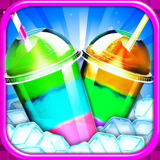 Icy Slushy Maker Frozen Ice Dessert Make Cook Game 1.8 APK MOD