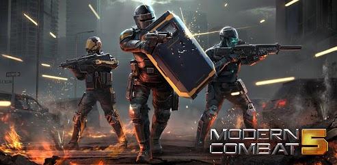دانلود بازی Modern Combat 5: eSports FPS
