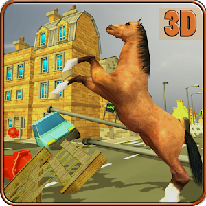 Wild Horse City Rampage 3D for PC and MAC