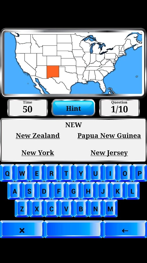 World Geography - Quiz Game- screenshot
