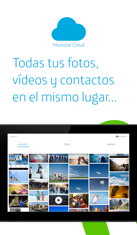 Movistar Cloud- screenshot
