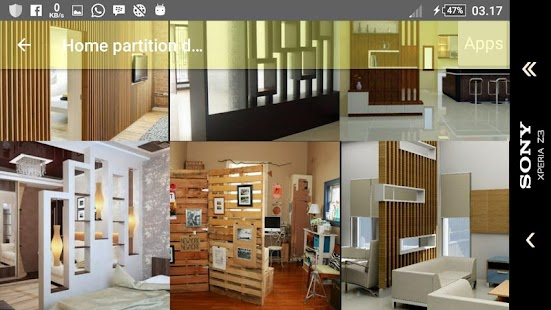 Home partition design pictures.