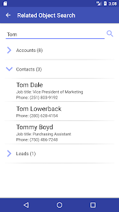 Akvelon CRM Call Tracker- screenshot thumbnail