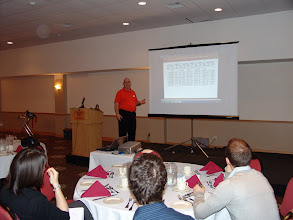 Photo: Clark Campbell of Belimo provided a stellar technical session on Control Valve sizing