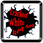 Cracked White and Red Icon Pack v3 ✨Free✨ 3.0
