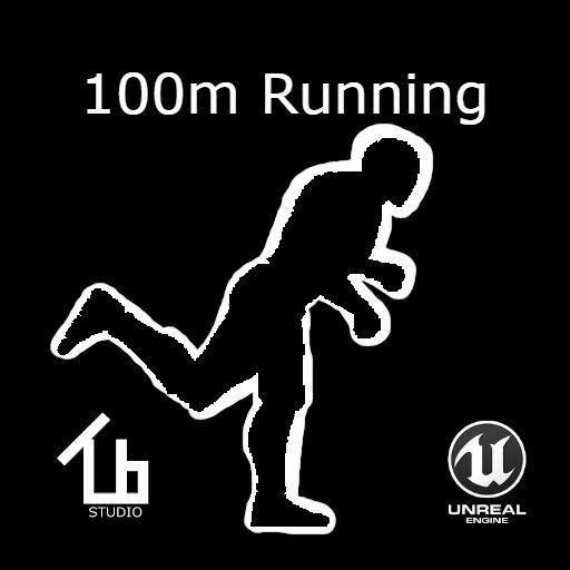 100 m running