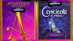 Los musicales Anastasia y La Cenicienta llegan al Teatro Cervantes.