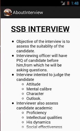 SSB INTERVIEW PRO Screenshot 1 SSB INTERVIEW PRO Screenshot 2 .