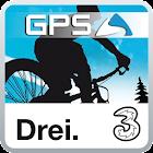 upmove GPS for mountainbike icon