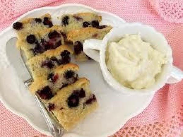 Blueberry Tea Bread Recipe