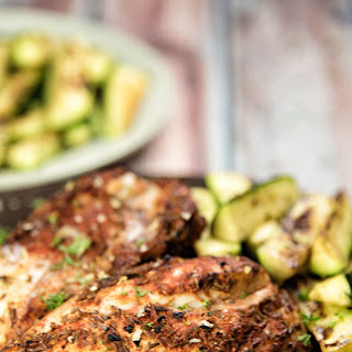 Grilled Chicken Breasts With Zucchini