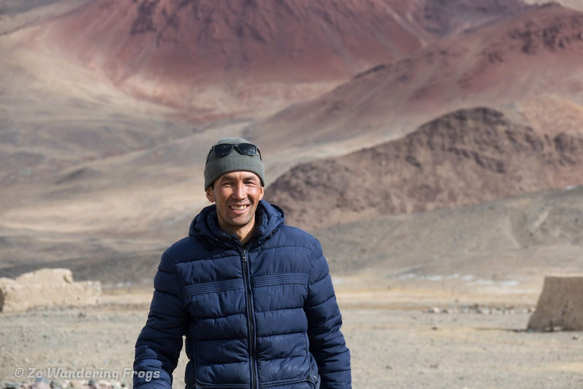 Travel to Tajikistan Pamir Highway and Wakhan Corridor // Ahmed Ali, our Jeep driver from Destination Pamir