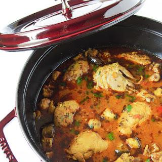 Moroccan Chicken Stew.