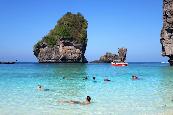 Swim and snorkel at Ao Nui Beach
