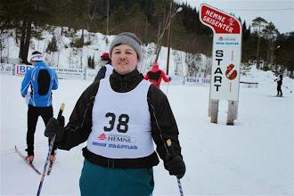 Photo: Klakkrennet, Hemne skisenter, 24. februar 2013. Foto: Line Ormset, Aure Idrettslag, www.aure-il.org