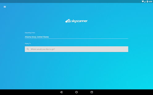 Skyscanner Screenshot 7