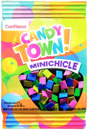 mini chicle candy town tutti futti