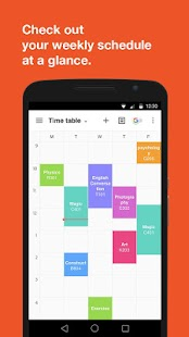 Timetable TimeSpread- screenshot thumbnail