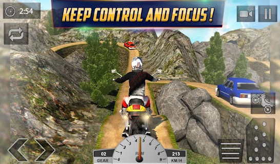 Crazy Offroad Hill Biker 3D screenshot 13