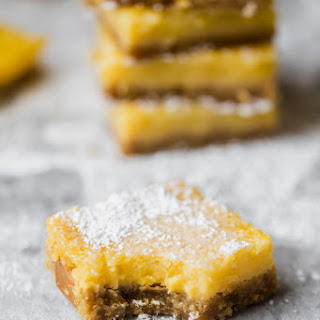 Healthy Lemon Bars (Gluten Free, Dairy Free & Paleo!) Recipe