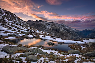 """Photo: Grimselpass, Switzerland  This photo was published in the Outdoor Photographer magazine / """"Annual Landscape Special 2011"""" issue."""