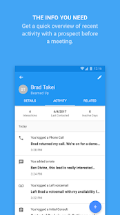 ProsperWorks CRM for Android- screenshot thumbnail