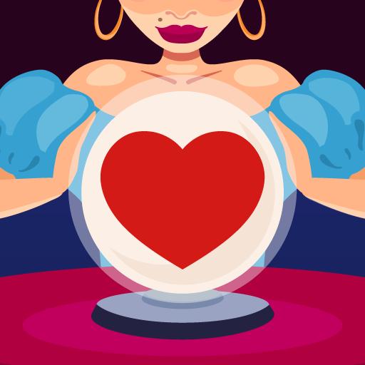 Amour Voyance Symbole Icon