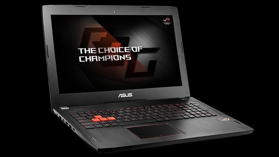 Asus ra mắt laptop chơi game và tai nghe không dây ROG Strix