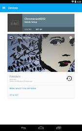 Chromecast Screenshot 2