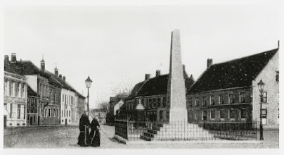 Photo: 1905 De Markt van Prinsenhage
