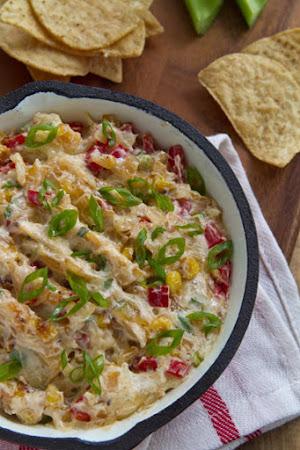 Roasted Corn Dip Recipe