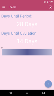 PeCal (Period Calendar) - náhled