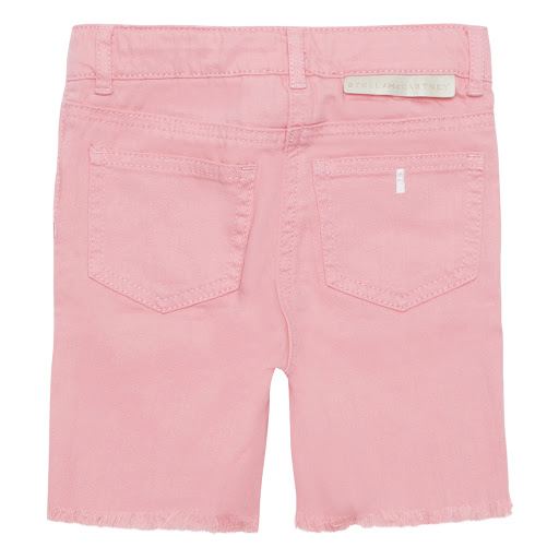 Thumbnail images of Stella McCartney Pink Denim Shorts