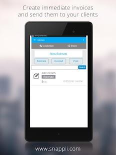 Construction Estimator App - náhled