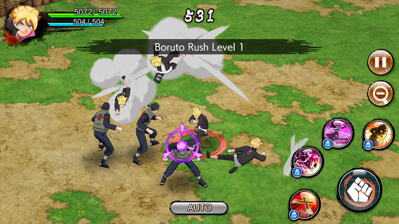 Screenshots of NARUTO X BORUTO NINJA VOLTAGE for iPhone
