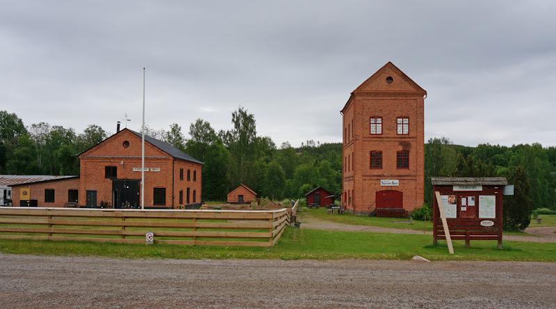 Photo: Stjärnsfors, Norra Råda socken, Hagfors kommun, Värmland. 20160618. Stjärnsfors kvarn och smedjan © Sven Olsson (e-post: kosmografiska@gmail.com)