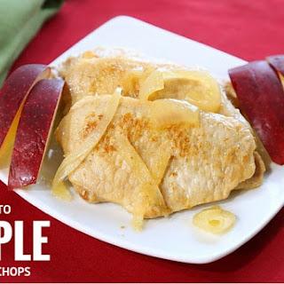 Keto Apple Pork Chops.