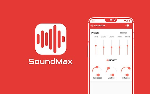 SoundMax Equalizer & Bass Booster + Volume Booster 0.1.3-b