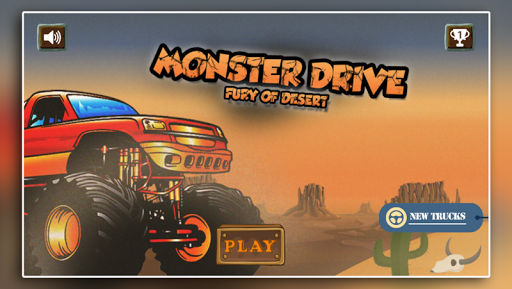Monster Drive - Fury Of Desert
