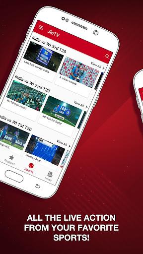 JioTV – LIVE Cricket, TV, Movies screenshot 3