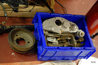 Photo: parts of the engine ready for its trip to Alex at Pigsty Racing